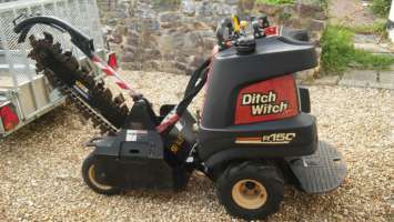 Ditch Witch trenching machine