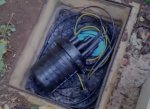 Underground cable joint